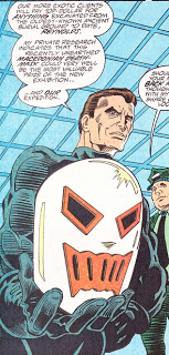 DEATHGRIN - Daniel Davis first appearance in Web of Spider-Man #104